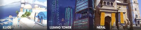 Ya disponible el modo juego competitivo de Overwatch - overwatch-mapas-de-control