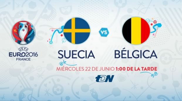 Suecia vs Bélgica, Eurocopa 2016 | Resultado: 0-1 - suecia-vs-belgica-en-vivo-euro-2016