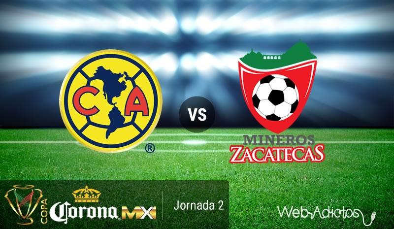 América vs Mineros, Copa MX Apertura 2016   Resultado: 4-1 - america-vs-mineros-de-zacatecas-copa-mx-apertura-2016