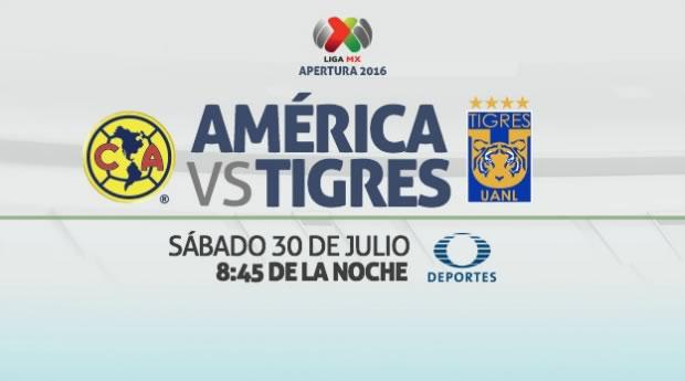 América vs Tigres, J3 del Apertura 2016   Resultado: 0-3 - america-vs-tigres-en-vivo-apertura-2016