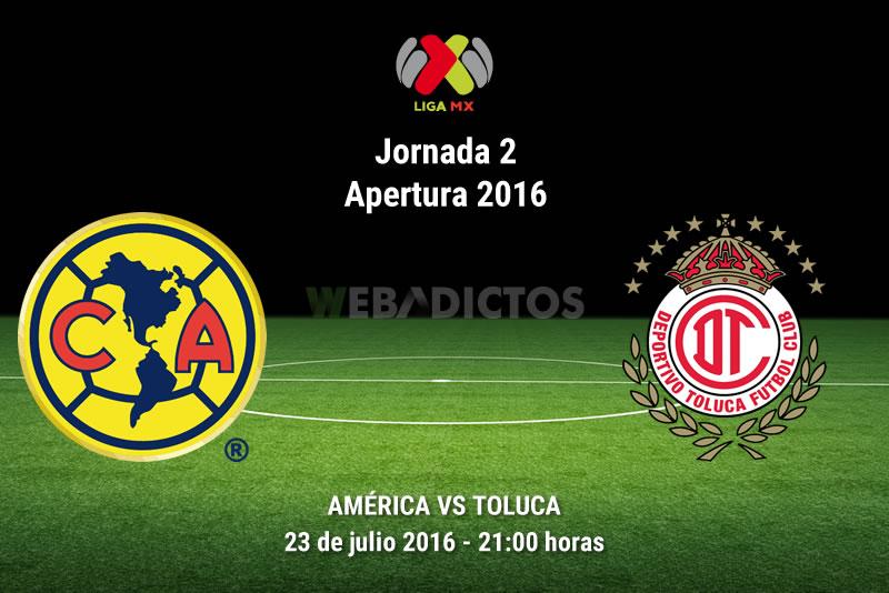 América vs Toluca, J2 del Apertura 2016   Resultado: 3-1 - america-vs-toluca-apertura-2016