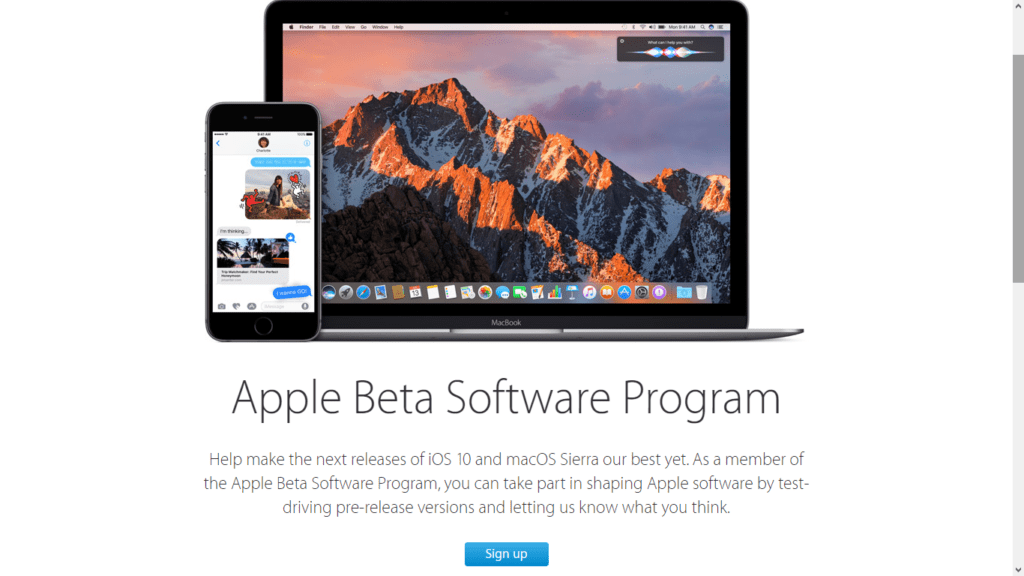 Apple libera las primeras betas públicas de iOS 10 y macOS Sierra - apple-ios-beta1
