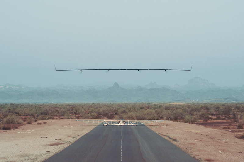 Aquila, el dron de Facebook que lleva internet, realizó su primer vuelo - aquila-facebook-drone