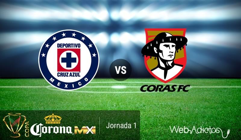 Cruz Azul vs Coras, Copa MX Apertura 2016 | Resultado: 2-0 - cruz-azul-vs-coras-copa-mx-apertura-2016