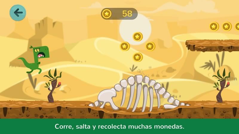 Dinos Jump: la app para niños que te lleva jugando a la prehistoria - dinos-jump-app-infantil