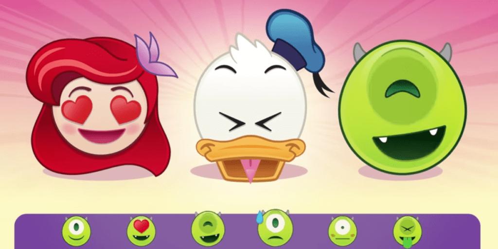Disney presenta emojis inspirados en sus personajes - disney-emoji-blitz