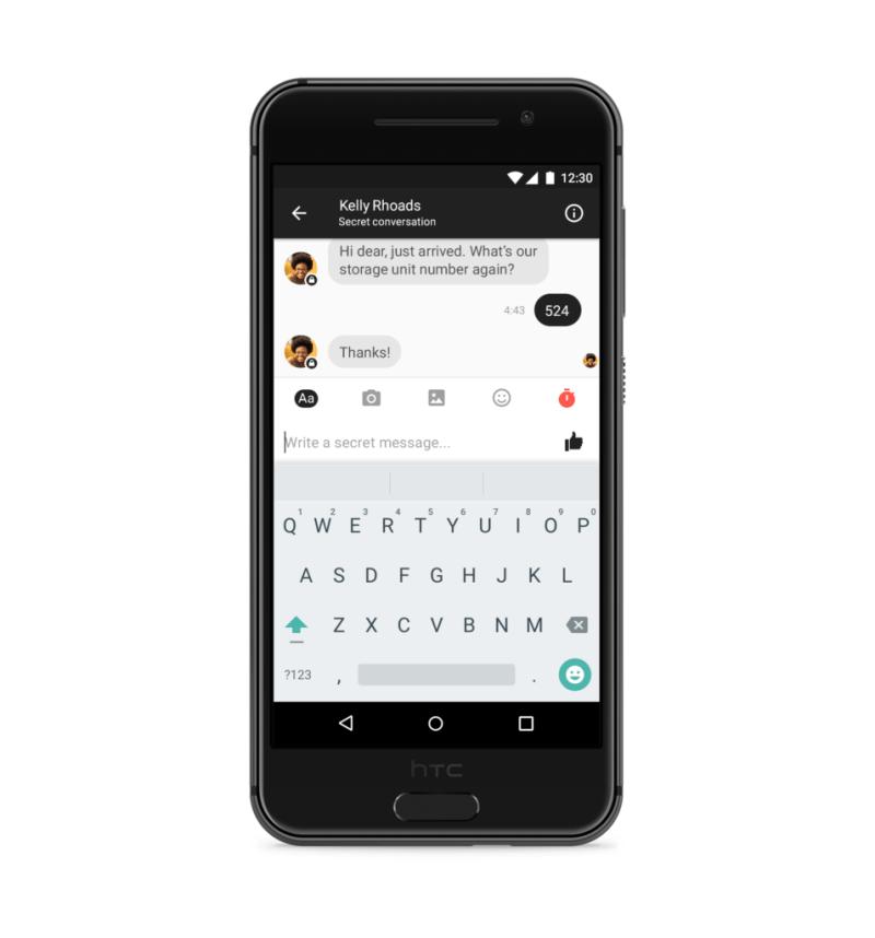 Facebook Messenger empieza a probar encriptación de punto-a-punto - facebook-messenger-secret-conversation-android-scenario-2
