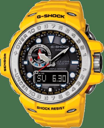 Nuevo Gulfmaster de G-Shock, un reloj para hombres que desafían los mares profundos - gwn-1000-9a-366x450