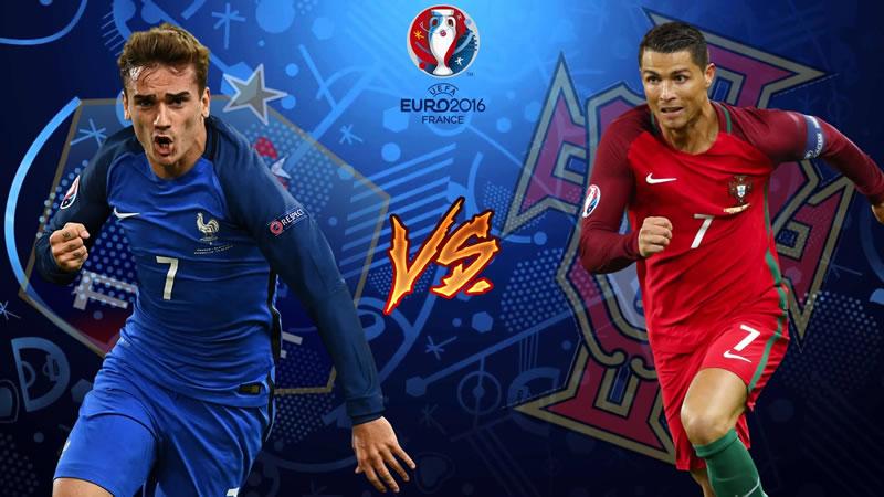 Francia vs Portugal: A qué hora juegan la final de la EURO 2016 y por dónde verla - horario-francia-vs-portugal-final-eurocopa-2016