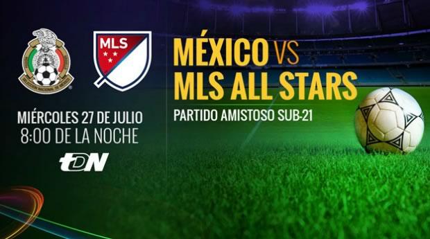 México vs MLS All Stars en partido amistoso 2016 - mexico-vs-mls-all-stars-en-vivo-2016