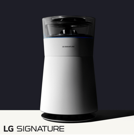 Nuevos electrodomésticos Ultra Premium LG Signature para el mercado Latinoamericano - purificador-de-aire-lg-signature