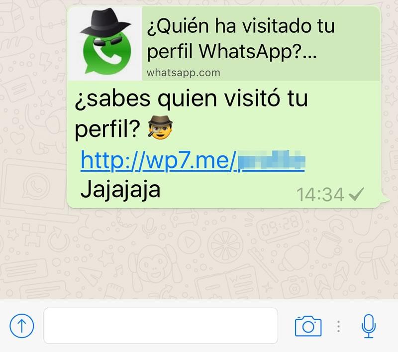 ¿Quién visitó tu perfil? estafa de Facebook llega a WhatsApp ¡Cuidado! - quien-visito-tu-perfil-whatsapp-estafa