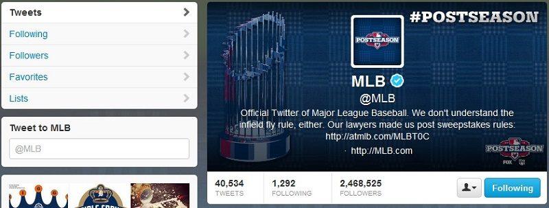 Twitter transmitirá semanalmente un juego de la MLB - twitter-mlb1-800x303