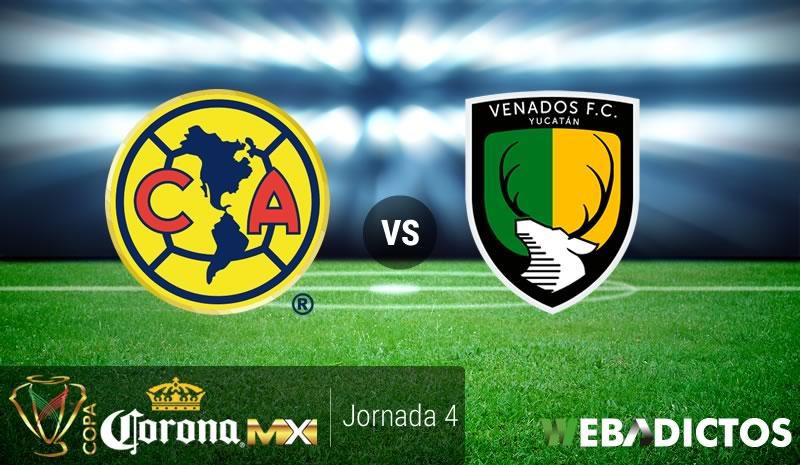 América vs Venados, J4 de la Copa MX A2016   Resultado: 2-0 - america-vs-venados-copa-mx-apertura-2016