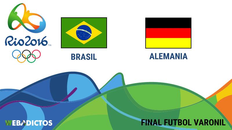 Brasil vs Alemania, Final en Río 2016   Resultado 1 (5)-(4) 1 - brasil-vs-alemania-final-futbol-varonil-rio-2016