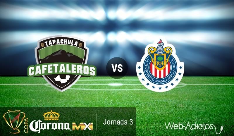 Tapachula vs Chivas, J3 de la Copa MX A2016 | Resultado: 0-0 - cafetaleros-de-tapachula-vs-chivas-copa-mx-apertura-2016