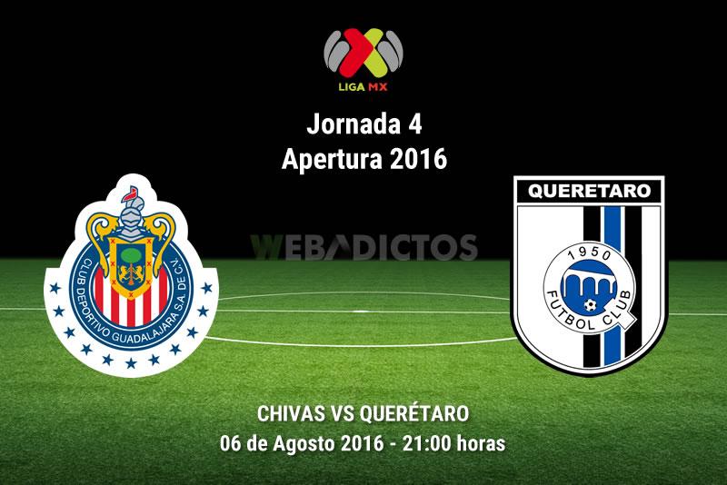 Chivas vs Querétaro, J4 del Apertura 2016   Resultado: 0-0 - chivas-vs-queretaro-apertura-2016