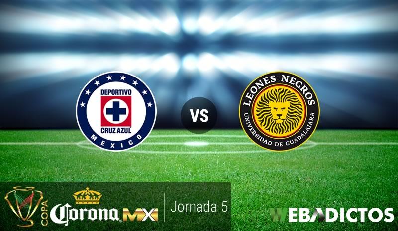 Cruz Azul vs Leones Negros UDG, Copa MX A2016 | Resultado: 3-1 - cruz-azul-vs-leones-negros-udg-copa-mx-apertura-2016