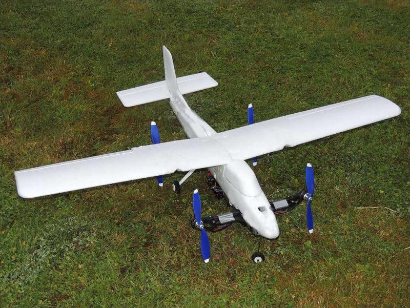 Innovador mexicano en pos de crear un dron autónomo con características de helicóptero y avión - dron-autonomo_2-800x601