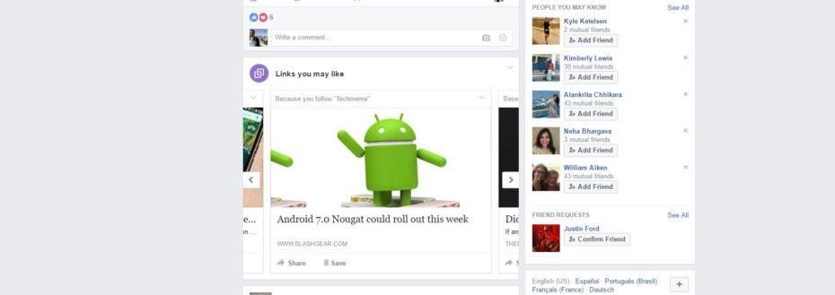 """Facebook pone a prueba """"Enlaces que te podrían gustar"""" - facebook-enlaces"""