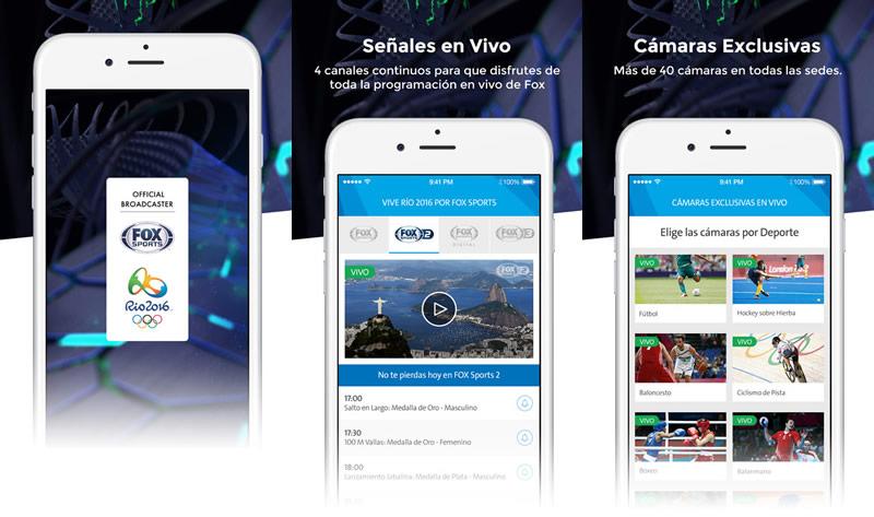 fox sports rio 2016 Fox Sports Río 2016: Ve los Juegos Olímpicos 2016 en vivo y ¡más!