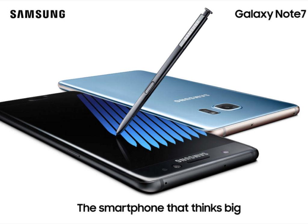 Samsung conquista a su país natal con el Galaxy Note 7 - galaxy-note-7-promo