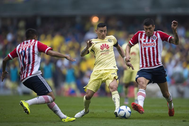 A qué hora juega América vs Chivas el Clásico en la J7 del Apertura 2016 y por dónde verlo - horario-america-vs-chivas-j7-apertura-2016