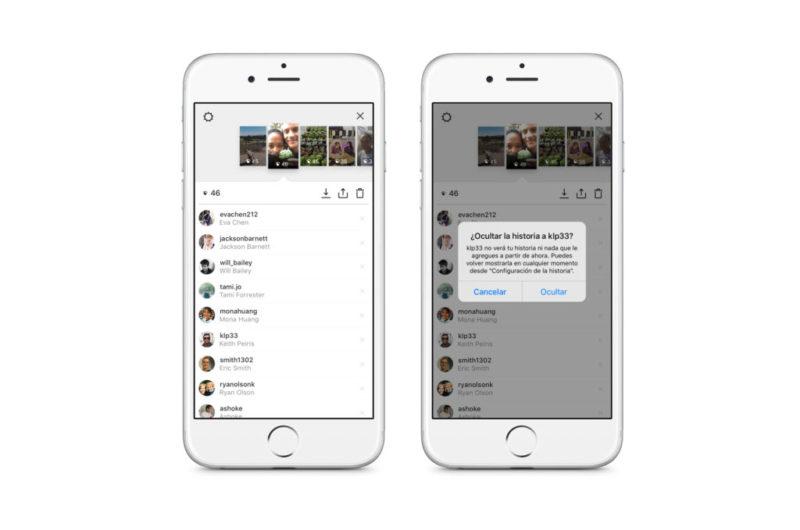 Instagram Stories, el nuevo formato para contar historias en Instagram - instagram-stories-hide-story-from-800x530
