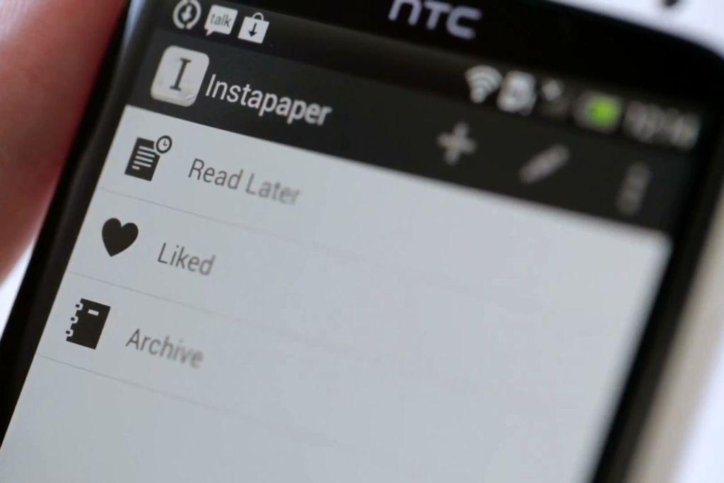 Instapaper ahora formará parte de Pinterest - instapaper-android