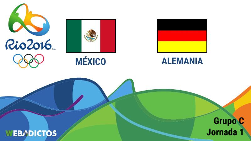 México vs Alemania, Olímpicos de Río 2016 - mexico-vs-alemania-rio-2016