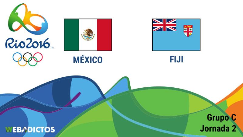 México vs Fiji en las Olimpiadas de Río 2016 | Resultado: 5-1 - mexico-vs-fiji-fiyi-rio-2016