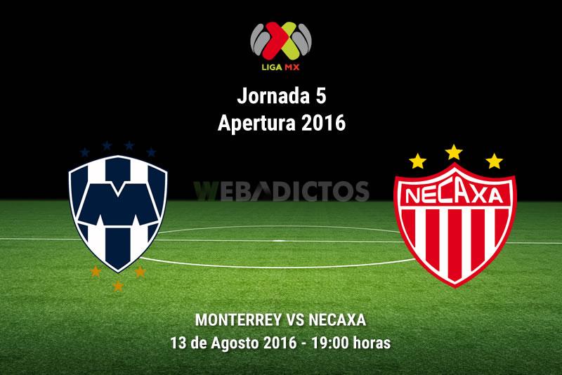 Monterrey vs Necaxa, Jornada 5 de la Liga MX A2016   Resultado: 2-1 - monterrey-vs-necaxa-apertura-2016