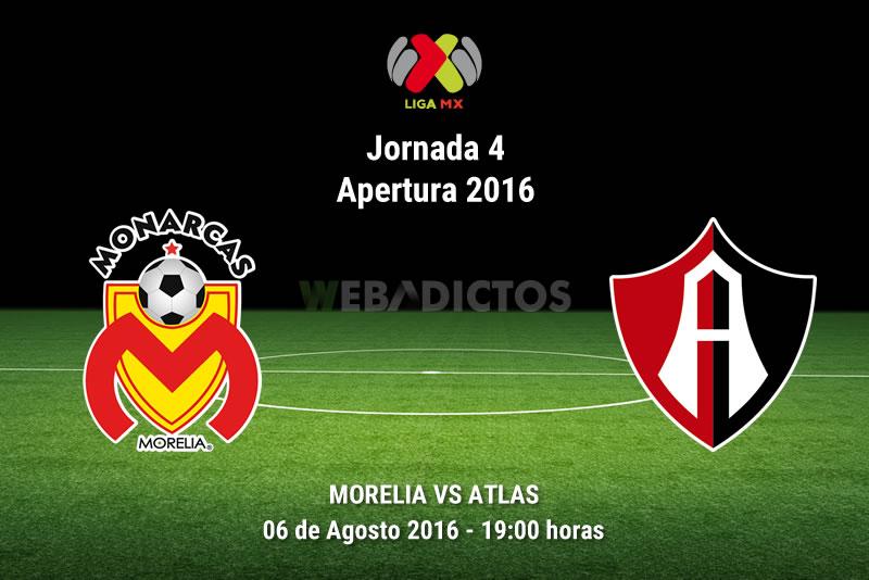 Morelia vs Atlas, Fecha 4 del Apertura 2016 | Resultado: 3-2 - morelia-vs-atlas-apertura-2016