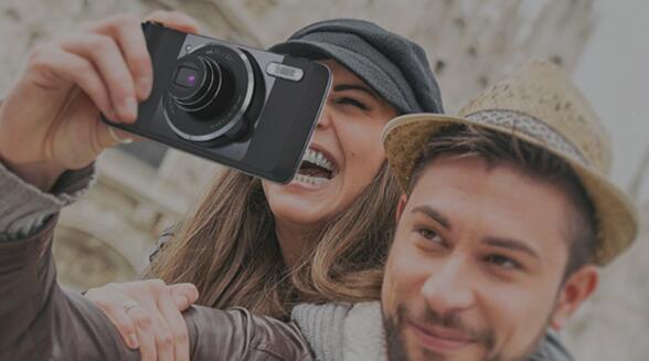Se filtra el Moto Mod de cámara para el Moto Z - moto-z-mod-camera-1