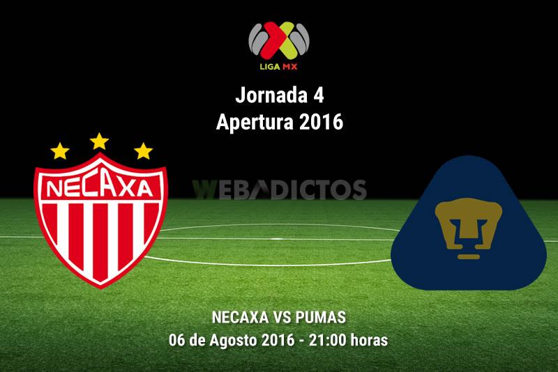 Necaxa vs Pumas, Jornada 4 del Apertura 2016 | Resultado: 2-2 - necaxa-vs-pumas-apertura-2016