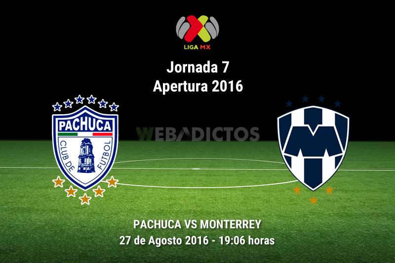 Pachuca vs Monterrey, Jornada 7 del Apertura 2016 | Resultado: 1-1 - pachuca-vs-monterrey-apertura-2016