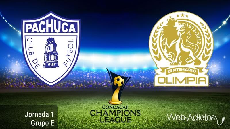 Pachuca vs Olimpia, Jornada 1 de la Conchampions 2016/2017 - pachuca-vs-olimpia-concachampions-2016