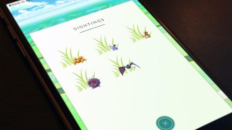 Código de Pokémon Go revelaría próximas novedades del juego - pokemon_go_sightings_update-0-800x450