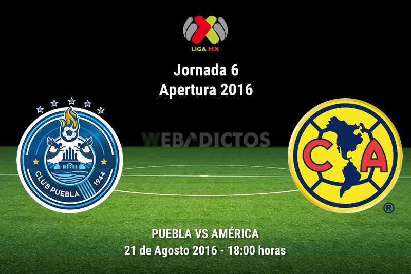 Puebla vs América, Jornada 6 del Apertura 2016 | Resultado: 2-2 - puebla-vs-america-jornada-6-apertura-2016