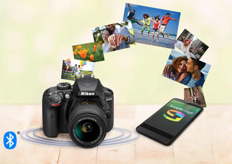 Nueva Nikon D3400, con SnapBridge que crea una conexión entre la cámara y smartphone - snapbridge-de-nikon-800x564