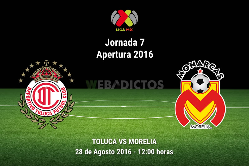 Toluca vs Morelia, Jornada 7 del Apertura 2016   Resultado: 2-2 - toluca-vs-morelia-apertura-2016