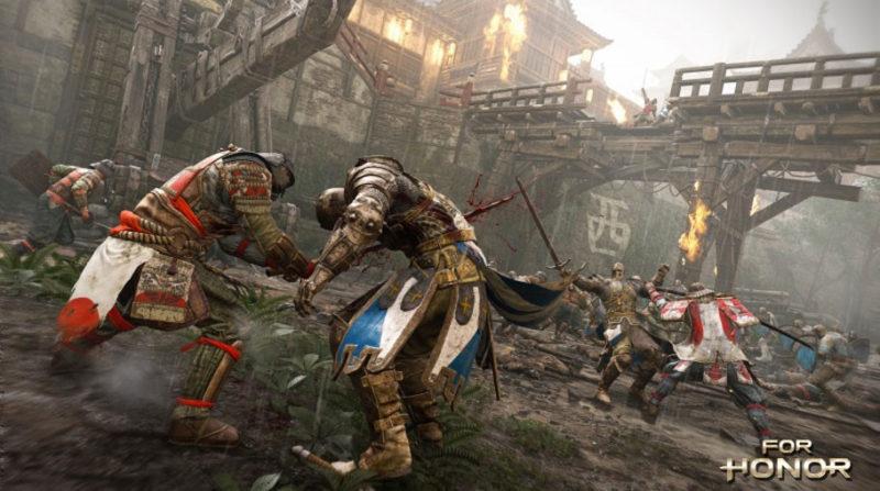 For Honor revela su alineación completa de héroes y modos multijugador - ubisoft-for-honor-1-800x447