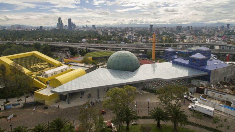 Papalote Museo del niño se renueva con nuevas experiencias, personajes y actividades. - vestibulo-papalote-mexico-800x449