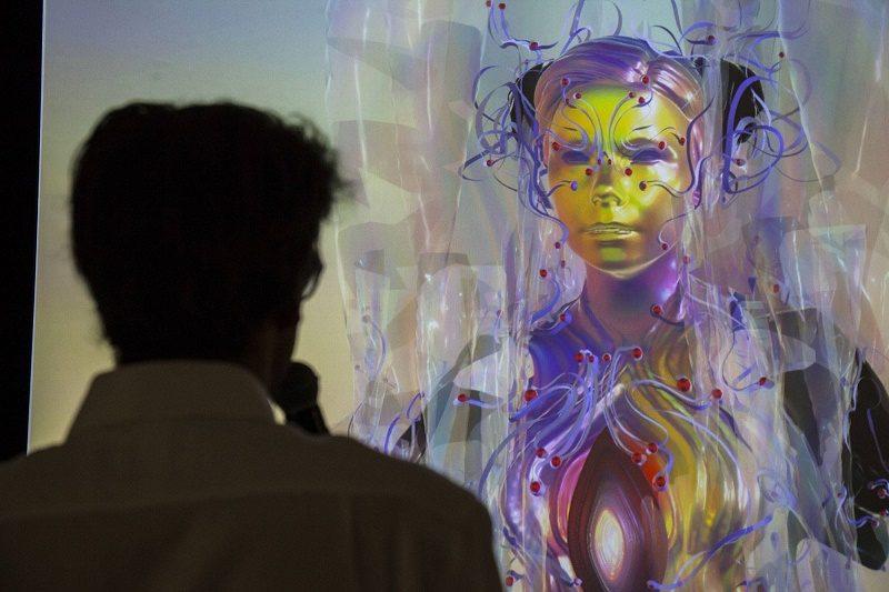 Björk aparece como un holograma en su nueva exposición - 14188223_10154446848151460_607960179084117923_o-800x533