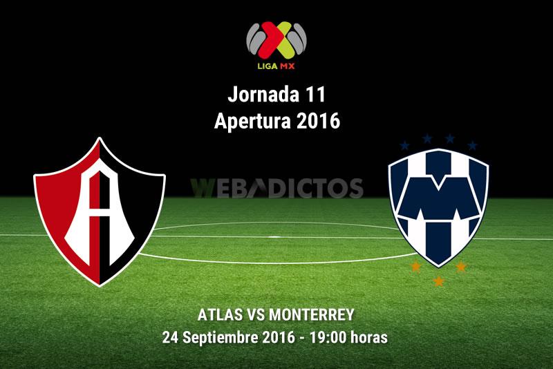 Atlas vs Monterrey, J11 del Apertura 2016   Resultado: 3-1 - atlas-vs-monterrey-apertura-2016