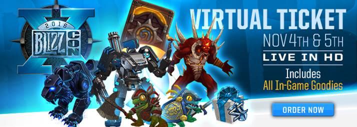 BlizzCon 2016: adelanto del Botín Virtual y horarios de la transmisión en vivo - blizzcon-2016-1