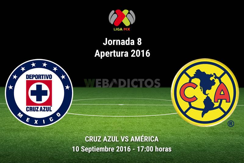 Cruz Azul vs América, Clásico Joven del A2016   Resultado: 3-4 - cruz-azul-vs-america-apertura-2016