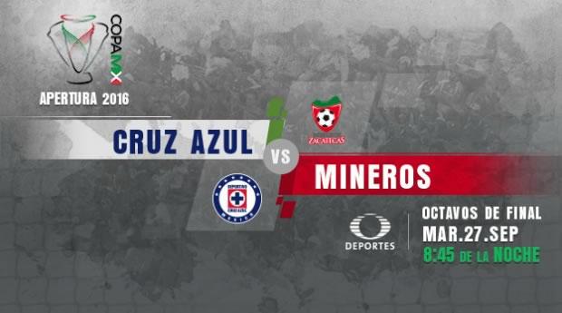 Cruz Azul vs Mineros, Octavos de Copa MX A2016   Resultado: 4-0 - cruz-azul-vs-mineros-en-vivo-octavos-copa-mx-a2016