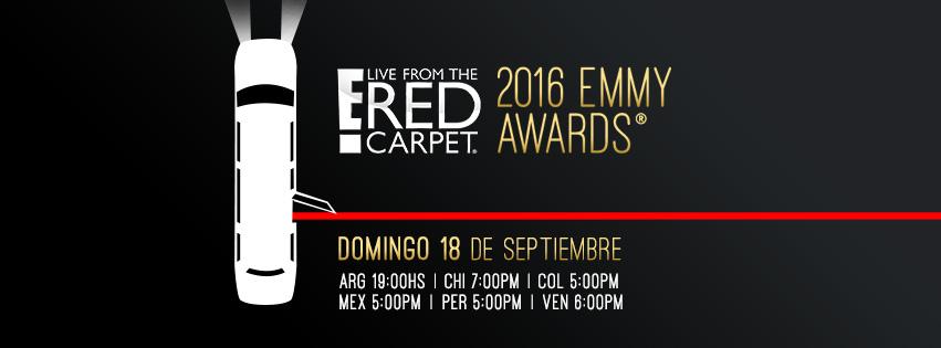 """Premios Emmy 2016: """"En vivo desde la alfombra roja"""" cobertura especial E! - envivo-desde-la-alfombra-roja-e"""