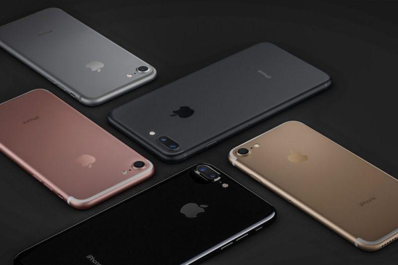 Fabricar un iPhone 7 costaría alrededor de 225 dólares - iphone-7-colors
